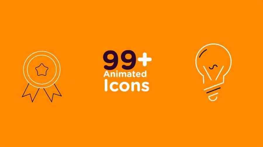 99 icons-adobe-premiere-pro-template