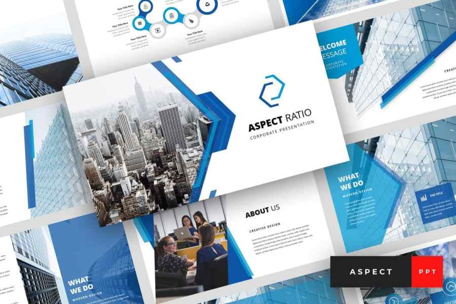 Aspect - Corporate & Business PowerPoint Template