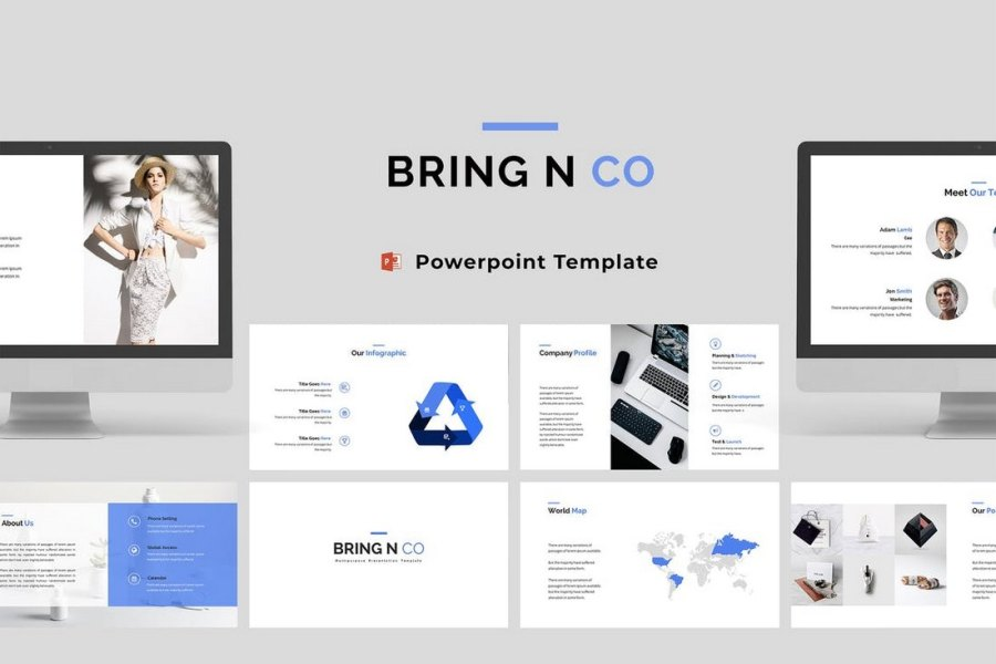 Bring N Co - Corporate Powerpoint Template