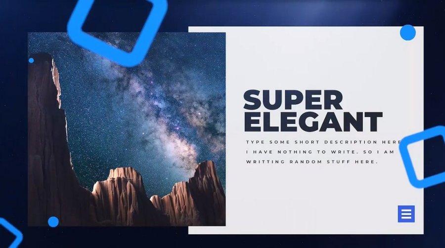 The Space - Creative Slideshow Premiere Pro Template