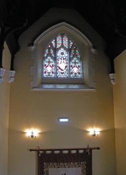 Stair hall window