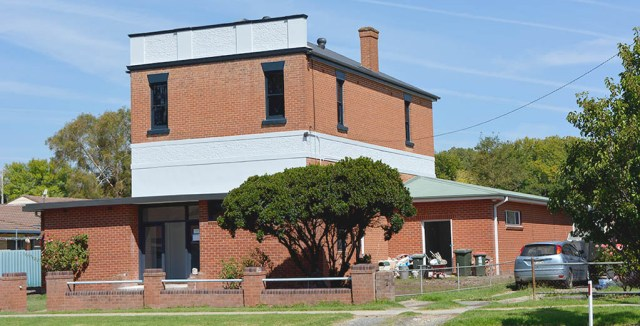 Adelong's Masonic Lodge has been included on a draft heritage listing in Tumut's LEP.