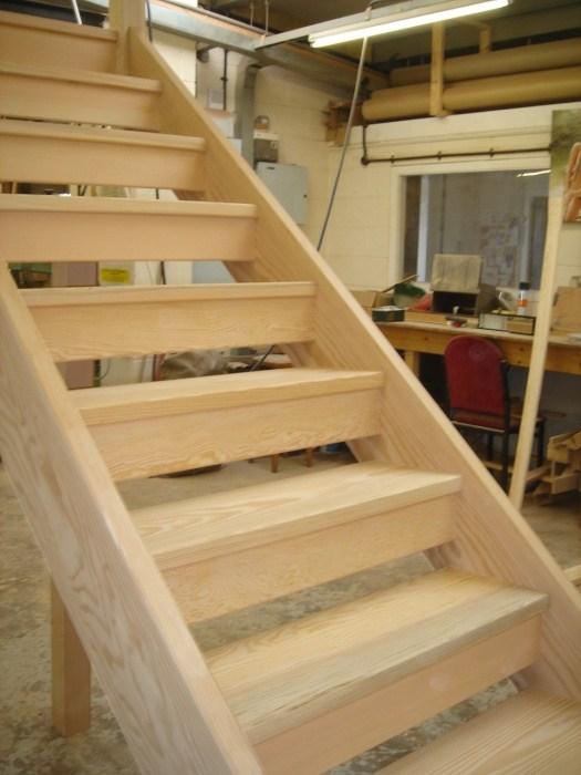 Wooden Close Tread Open Tread Stair Manufacturer In Derby | Wood Stair Tread Manufacturers