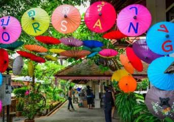 The umbrella craftsmen of Bor Sang in Chiang Mai