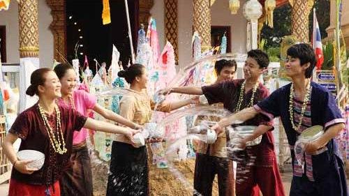 Songkran festival in Chiang Mai