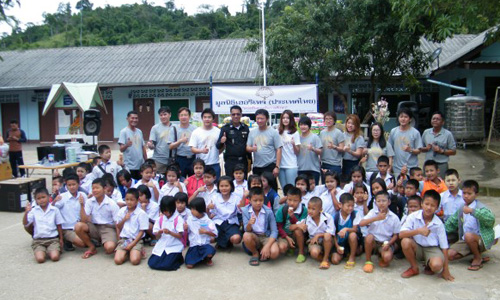 Heritage Thailand CSR project at a Ratchaburi school