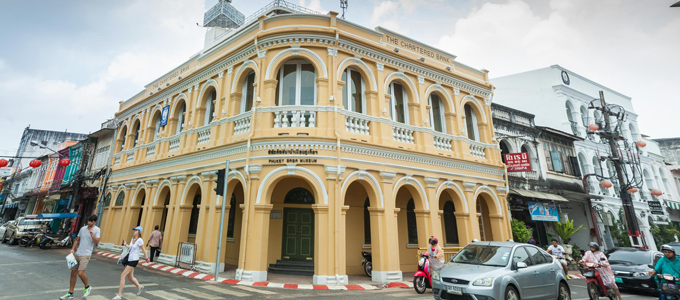 Old Phuket Town is a casserole of cultures with a very Thai taste