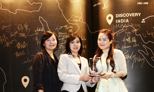 THAI named Best Airlines at the 2015 China Travel Awards