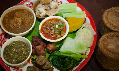 Fill your belly while exploring the highlights of Chiang Mai's culinary and cultural treasures
