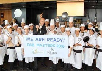 Hilton Pattaya kicks off F&B Masters 2016