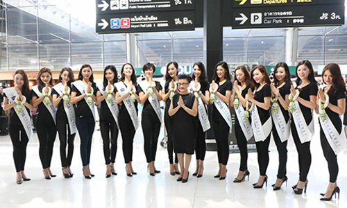 Thailand hosts Miss Universe China 2016 finalists for a week of meaningful activities