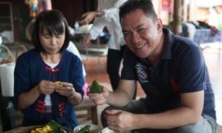 Cooking class of Khanom Jok at Baan Rai Kong Khing
