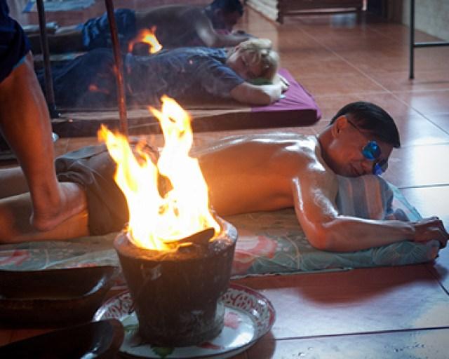 Yam Khang massage at Baan Rai Kong Khing