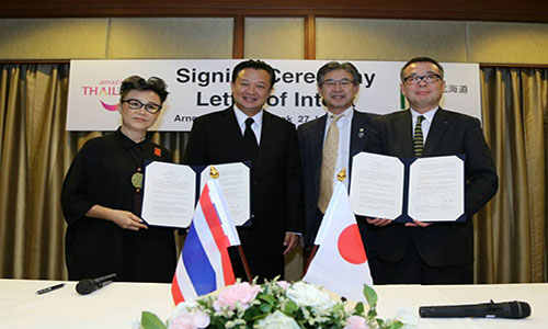 TAT and Hokkaido Government Renew Cooperation Pact