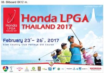 70 female golfers to compete in Honda LPGA Thailand 2017