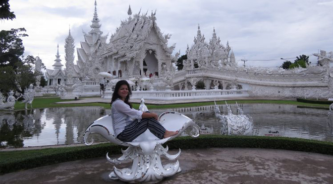 Jyotsna Ramani at Wat Rong Khun