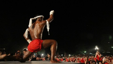 1400 fighters join 13th World Wai Kru Muay Thai Ceremony in Ayutthaya