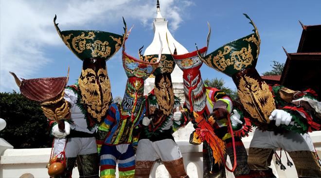 Bun Luang and Phi Ta Khon Festival 2017