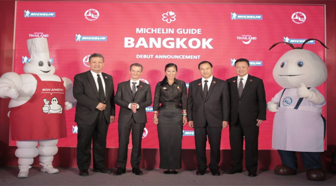 Thailand to launch MICHELIN Guide Bangkok to promote Tourism