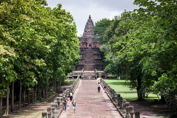 Castles of Buri Ram create Sports Tourism mecca-Prasat Hin Phanom Rung
