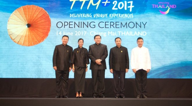 Photo Release: Thailand Travel Mart Plus 2017 opens in Chiang Mai to great fanfare