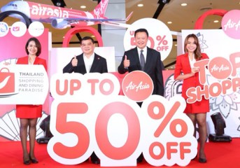 Thailand Shopping & Dining Paradise 2017 receives supports from Air Asia