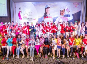 Over a hundred women golfers from Asia joined Thailand's 2nd Lady Golf Challenge