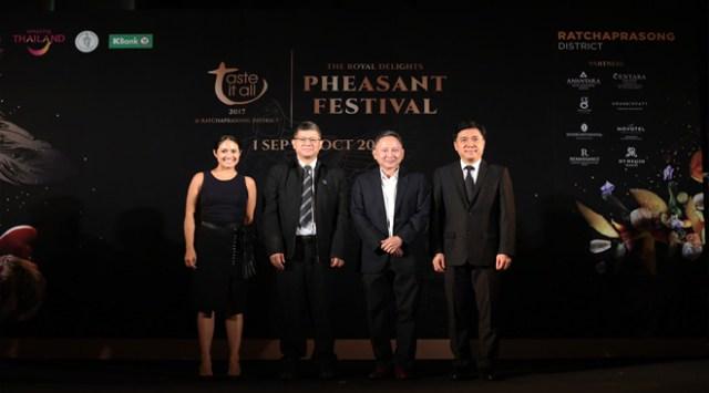 TAT supports 'The Royal Delights – Pheasant Festival' at Bangkok's Ratchaprasong District