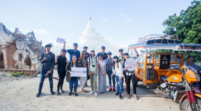 TAT promotes ASEAN connectivity with media fam trip linking Thailand with Myanmar and Lao PDR
