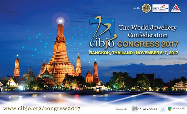 Thailand ready to host CIBJO Congress 2017 this November