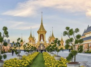 Exhibition of the Royal Crematorium for the late King Bhumibol opens in November