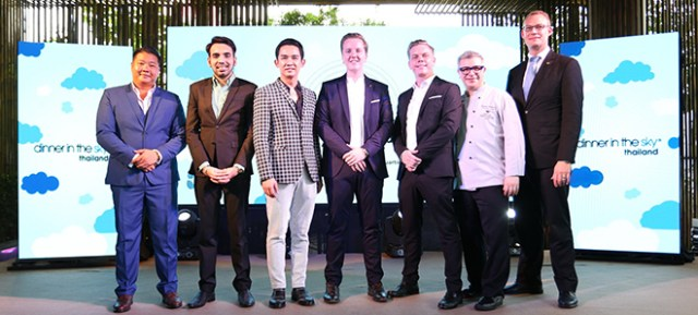 Dinner In The Sky Thailand Press Conference