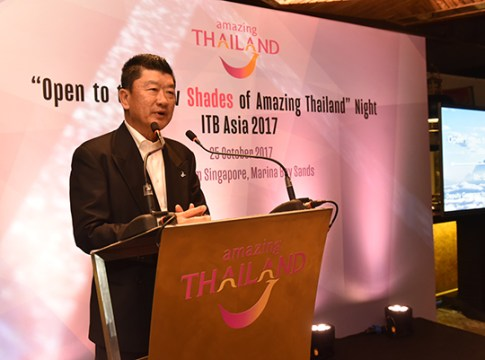 Mr. Santi Chudintra, TAT Deputy Governor for International Marketing – Asia and the South Pacific