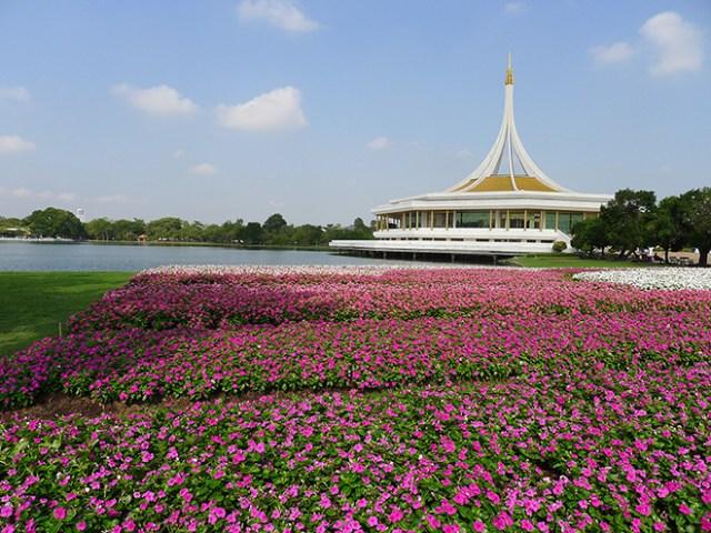 Suanluang Rama IX Flower Festival 2017