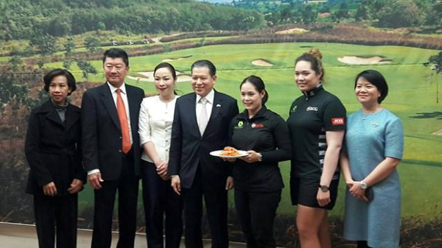 Thailand Golf Ambassadors Pro May and Pro Mo