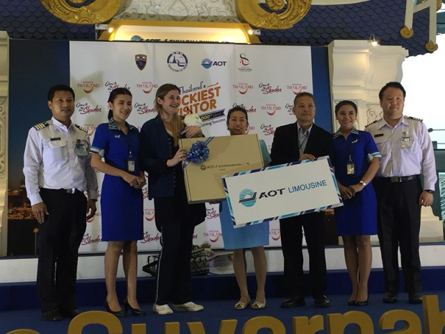Thailand records 33 millionth visitor arrival