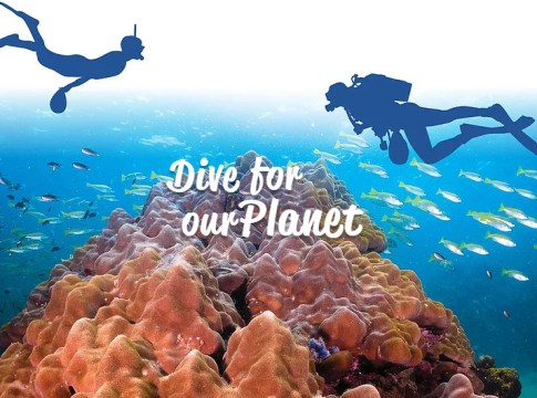 Upcycling the Oceans Thailand - Dive for our planet