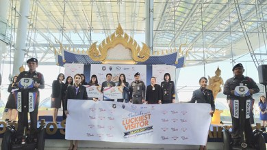 Yu-Chen Wang 34 millionth arrival to Thailand