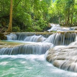 Erawan Waterfall Kanchanaburi-tourismthailand