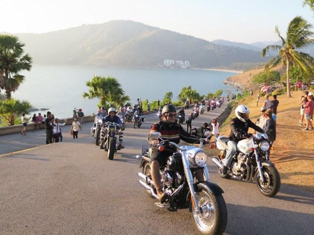 Phuket Bike Week motorcycle convoy