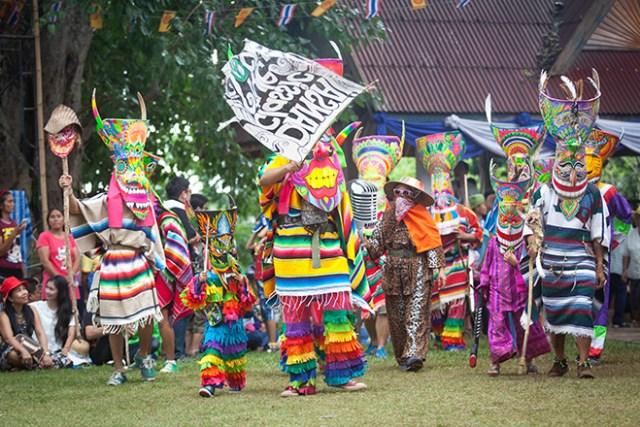 Phi Ta Khon Festival 2018