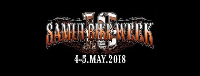 Samui Bike Week 2018-banner