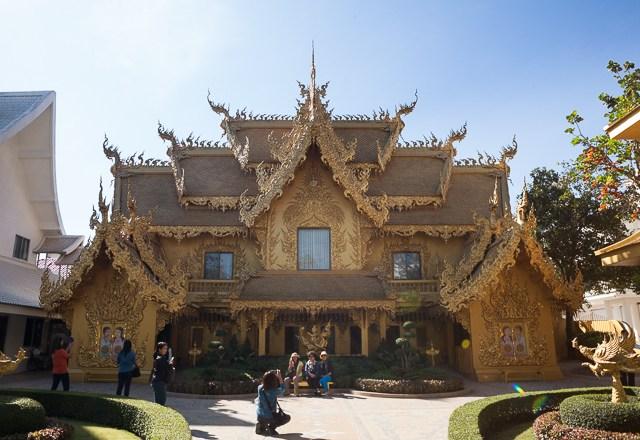 The Golden Toilet of Wat Rong Khun