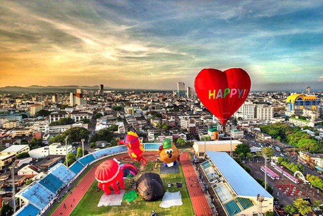 International Balloon Festival 2018 at Hat Yai