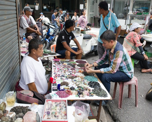 Talad Ploy or Gems Market, Chanthaburi