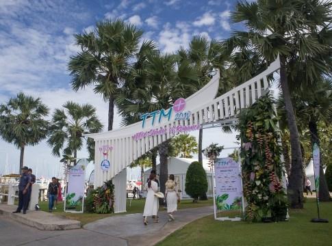 The venue at the Ocean Marina Yacht Club
