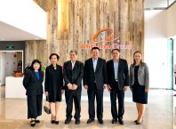 AT delegation at Alibaba's headquarters in Hangzhou, China