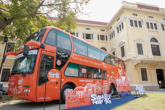 TAT welcomes Bangkok's newest sightseeing bus service Siam Hop