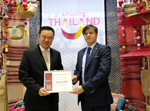 Thailand wins Best Asian Destination Award by German marketing website GoAsia
