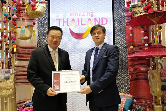 Thailand wins Best Asian Destination Award by German marketing website GoAsia